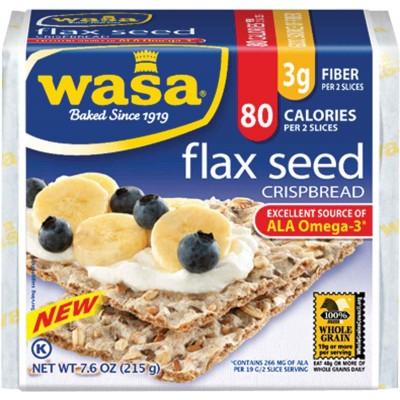 Wasa Classic Flax Seed Crispbread