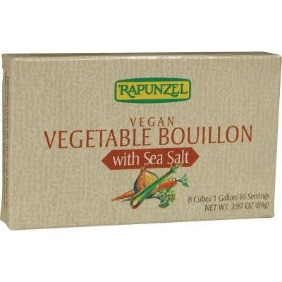 Rapunzel Vegan Vegetable with Sea Salt