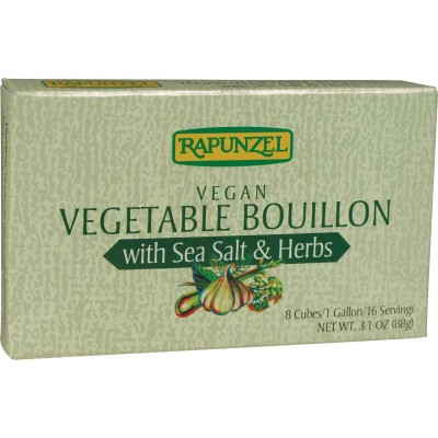 Rapunzel Vegan Vegetable with Sea Salt and Herbs