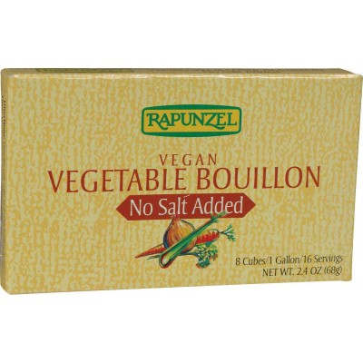 Rapunzel Vegan Vegetable without added Salt