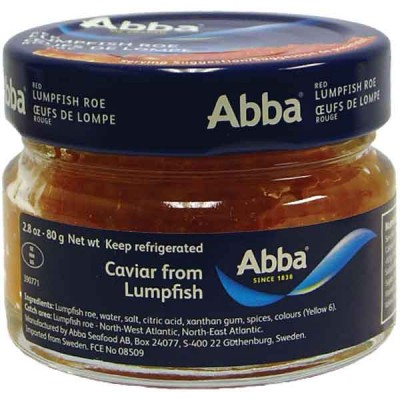 Abba Red Lumpfish Caviar