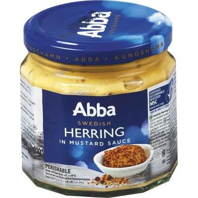 Abba Mustard Sauce Jarred Herring