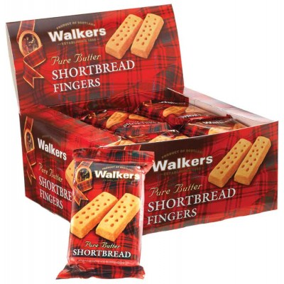 Walkers Shortbread Cookie Fingers Counter Display
