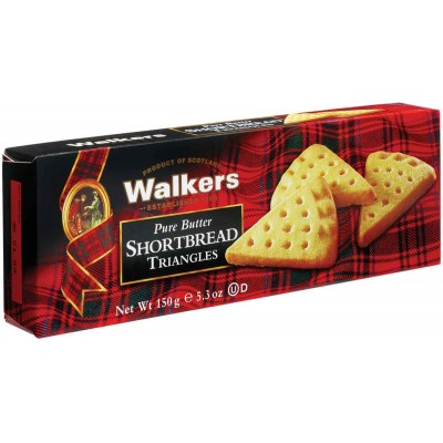Walkers Shortbread Cookie Triangles
