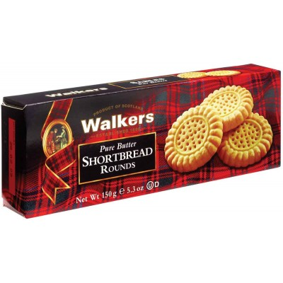 Walkers Shortbread Cookie Rounds