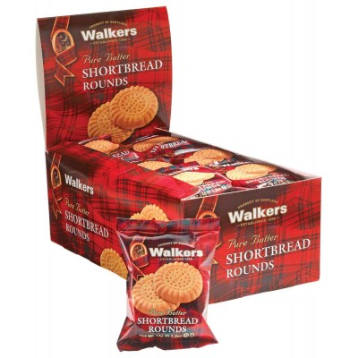 Walkers Shortbread Cookie Rounds Counter Display