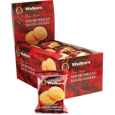 Walkers Shortbread Cookie Highlanders Counter Display