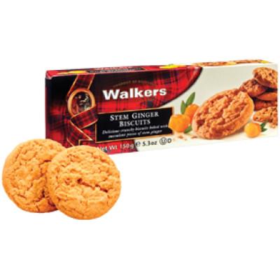 Walkers Shortbread Cookie Stem Ginger
