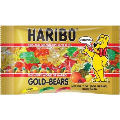 Haribo Gold Bears Laydown Bag