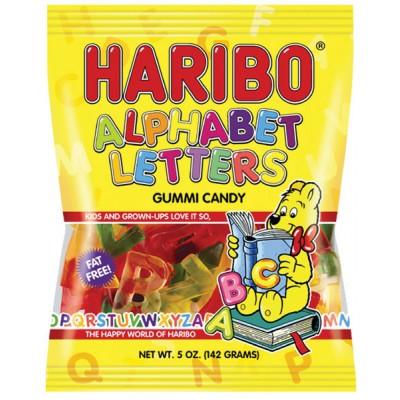 Haribo Alphabet Letters Bag
