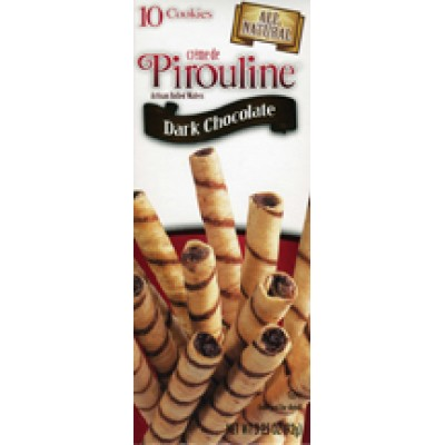 De Beukelaer Dark Chocolate Hazelnut Pirouline Box