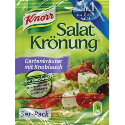 Knorr Garden Salad and Garlic Salad Herb