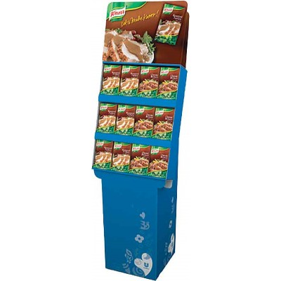 Knorr 2 Flavor Gravy Shipper