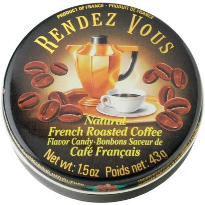 Rendez Vous Roasted Coffee Candy Tin
