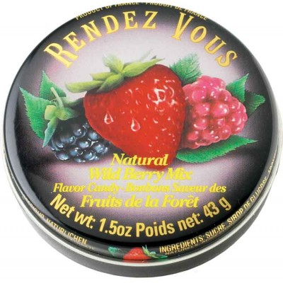 Rendez Vous Wild Berry Candy Tin