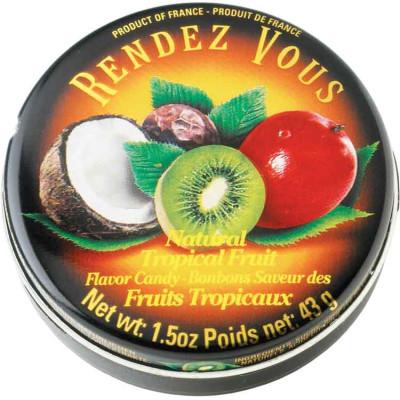 Rendez Vous Tropical Fruit Candy Tin