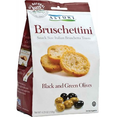 Asturi Black & Green Olives Bruschettini