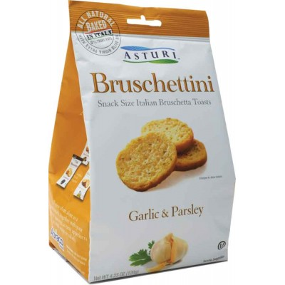 Asturi Garlic & Parsley Bruschettini
