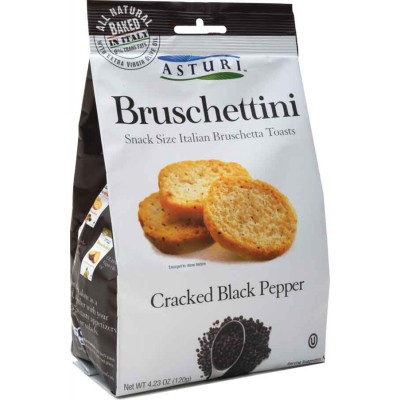 Asturi Cracked Black Pepper Bruschettini
