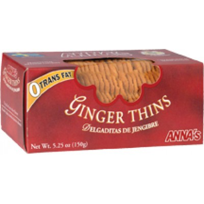 Annas Cookie Thin Ginger Box