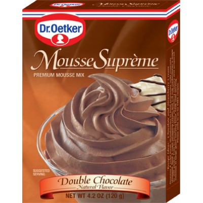 Dr Oetker Double Chocolate Mousse