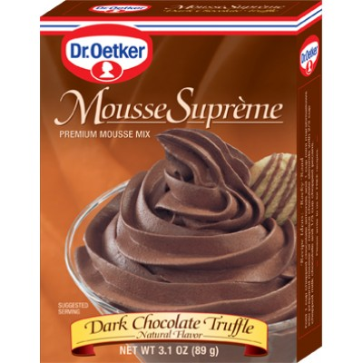 Dr Oetker Dark Chocolate Truffle Mousse