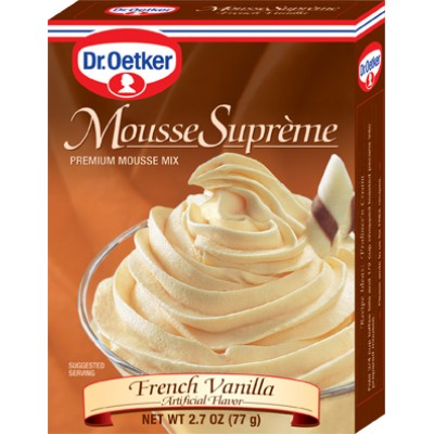 Dr Oetker French Vanilla Mousee