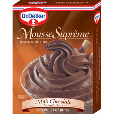 Dr Oetker Milk Chocolate Mousse