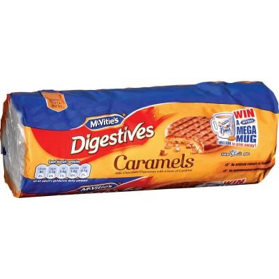McVities Digestive Caramel Cookie