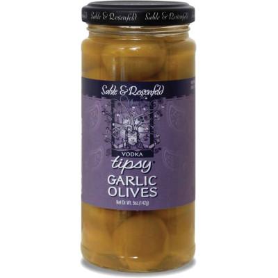 Sable & Rosenfeld Vodka Garlic Tipsy Olives