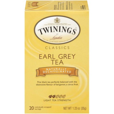 Twinings of London Earl Grey Decaffeinated Classic Tea