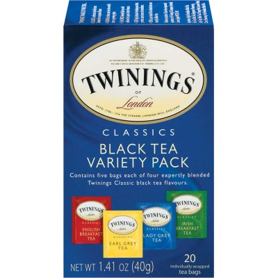 Twinings of London Classic Black Tea Variety Pack