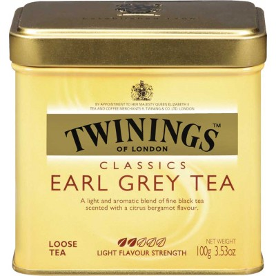 Twinings of London Loose Earl Grey Tea Tin