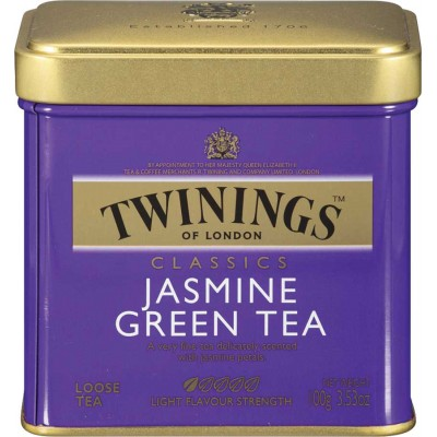 Twinings of London Loose Jasmine Tea Tin