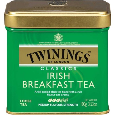 Twinings of London Loose Irish Breakfast Tea Tin