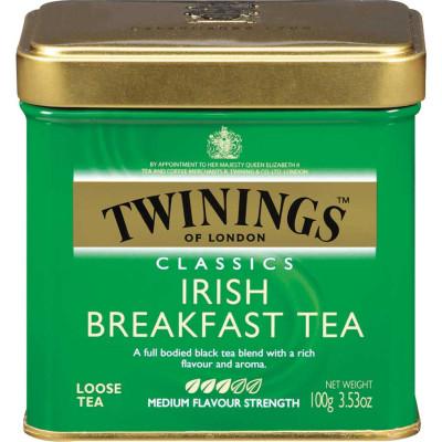 Twinings of London Loose Irish Breakfast Tea Tin