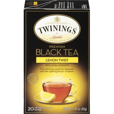 Twinings of London Lemon Twist Flavoured Tea