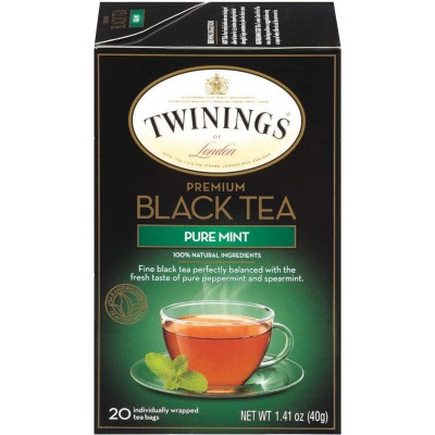 Twinings of London Pure Mint Flavoured Tea