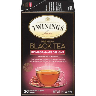 Twinings of London Pomegranate Delight Flavoured Tea