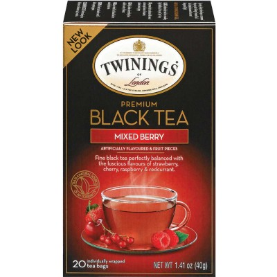 Twinings of London Mixed Berry Flavoured Tea