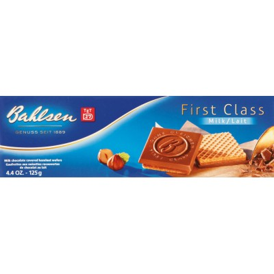 Bahlsen Milk Chocolate First Class Chocolate Bar