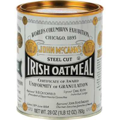 McCanns Traditional Oatmeal Tin