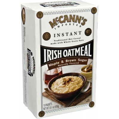McCanns Maple Brown Sugar Instant Oatmeal