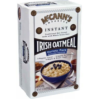 McCanns Assorted Varieties Instant Oatmeal