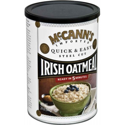 McCanns Quick & Easy Steel Cut Oatmeal Canister