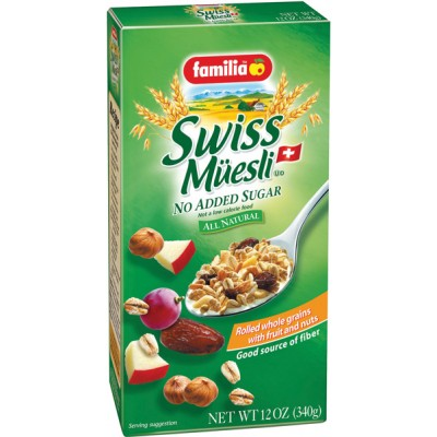 Familia Original Swiss Muesli No Sugar Added