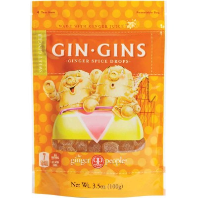 Ginger People Ginger Spice Drops Bag