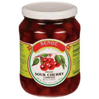 Bende Sour Cherries in Compote Syrup