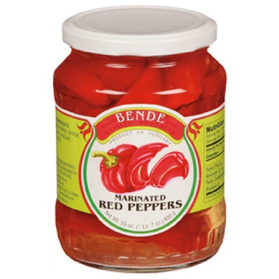 Bende Marinated Red Peppers