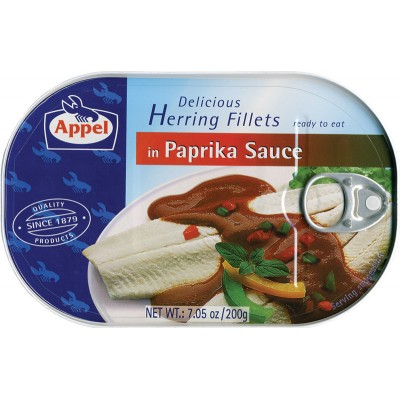 Appel Herring in Paprika Sauce
